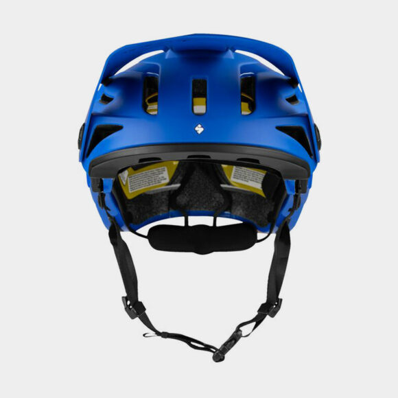 Cykelhjälm Sweet Protection Arbitrator MIPS Race Blue/Natural Carbon, Large/X-Large (59 - 61 cm)