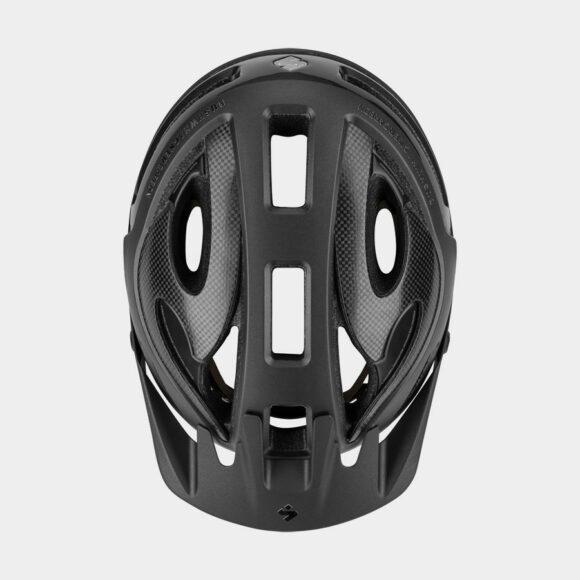 Cykelhjälm Sweet Protection Bushwhacker II Carbon MIPS Matte Black Metallic, Medium/Large (56 - 59 cm)