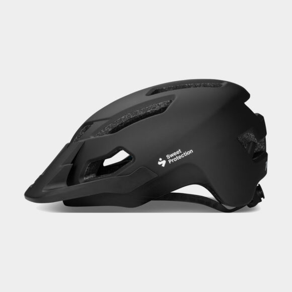 Cykelhjälm Sweet Protection Dissenter Matte Black 2021, Large/X-Large (59 - 61 cm)