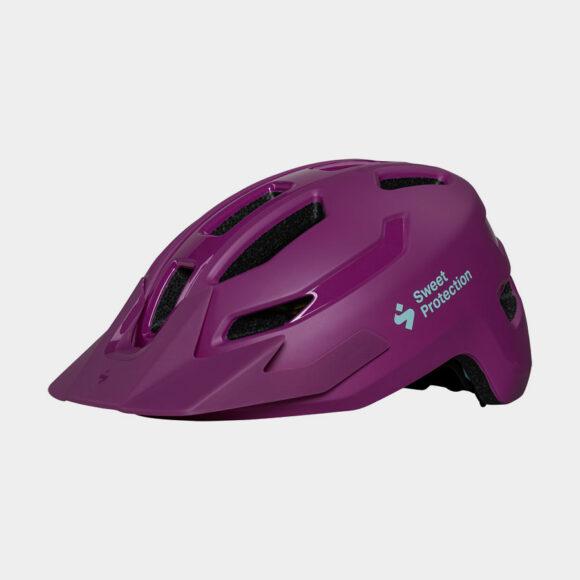 Cykelhjälm Sweet Protection Ripper JR Matte Opal Purple, One-Size (48 - 53 cm)
