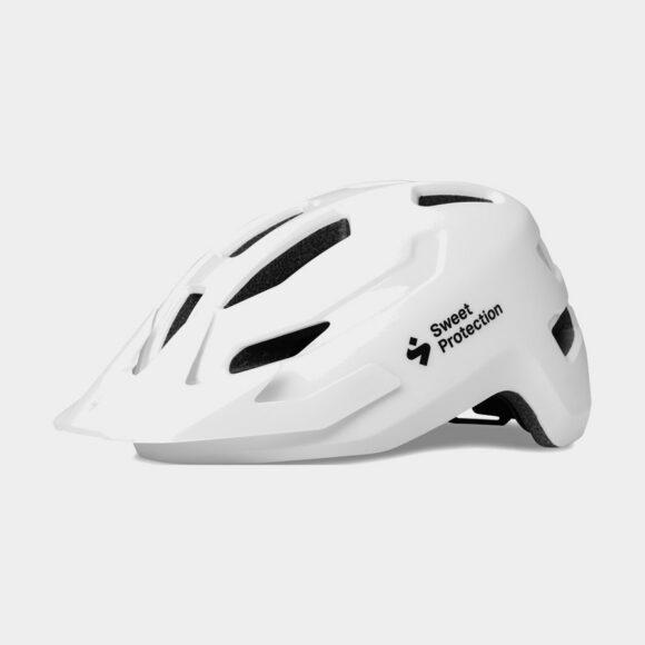 Cykelhjälm Sweet Protection Ripper JR Matte White, One-Size (48 - 53 cm)