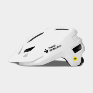 Cykelhjälm Sweet Protection Ripper MIPS JR Matte White, One-Size (48 - 53 cm)