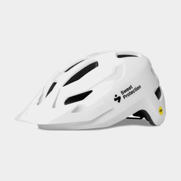 Cykelhjälm Sweet Protection Ripper MIPS Matte White, One-Size (53 - 61 cm)
