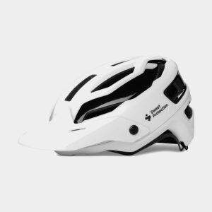 Cykelhjälm Sweet Protection Trailblazer Matte White, Small/Medium (53 - 56 cm)