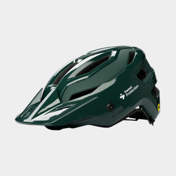 Cykelhjälm Sweet Protection Trailblazer MIPS Gloss Forest Green, Medium/Large (56 - 59 cm)