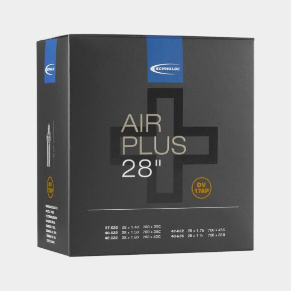 Slang Schwalbe Air Plus DV17AP 37/47-622 40-635 cykelventil 40 mm