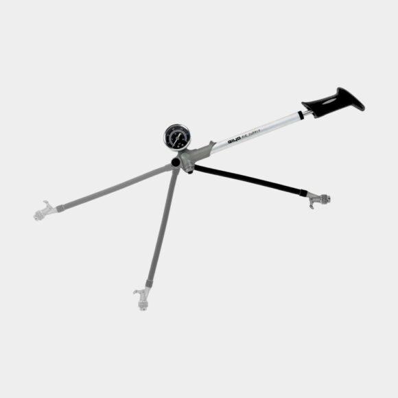 Dämparpump Giyo 21/300, med analog tryckmätare (manometer)