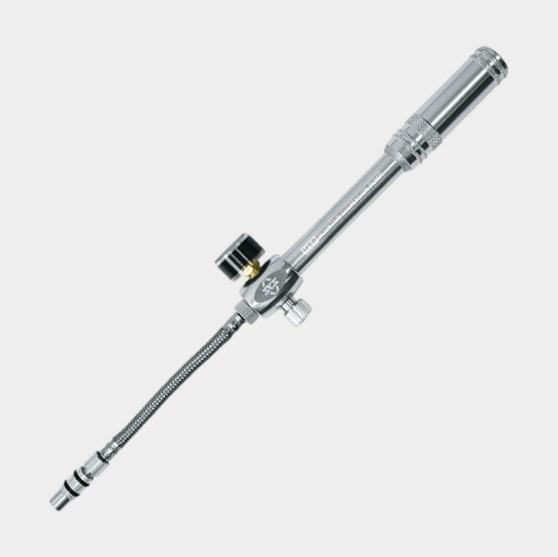 Dämparpump SKS MSP, med analog tryckmätare (manometer)