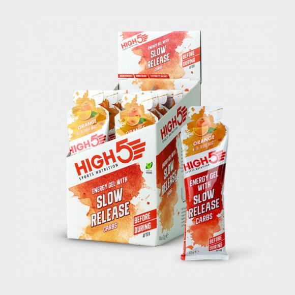 Energigel High5 Slow Release Gel Orange, 62 gram