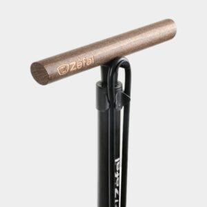Fotpump Zefal Profil Max FP60 Z-Turn, med analog tryckmätare (manometer), med extra lång slang