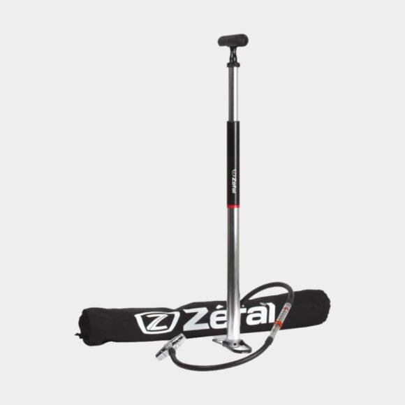 Fotpump Zefal Profil Travel, med analog tryckmätare (manometer)