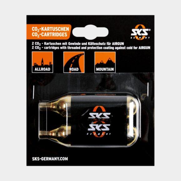 Kolsyrepatroner SKS CO2, 2 x 16 gram