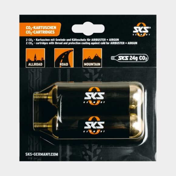 Kolsyrepatroner SKS CO2, 2 x 24 gram