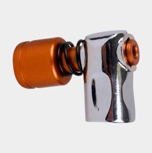 Kolsyrepump Zefal EZ Big Shot, brons/silver + kolsyrepatron (16 gram) + foamskydd