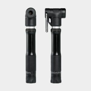 Minipump Crankbrothers Sterling S, Midnight Black Edition + flaskhållarfäste