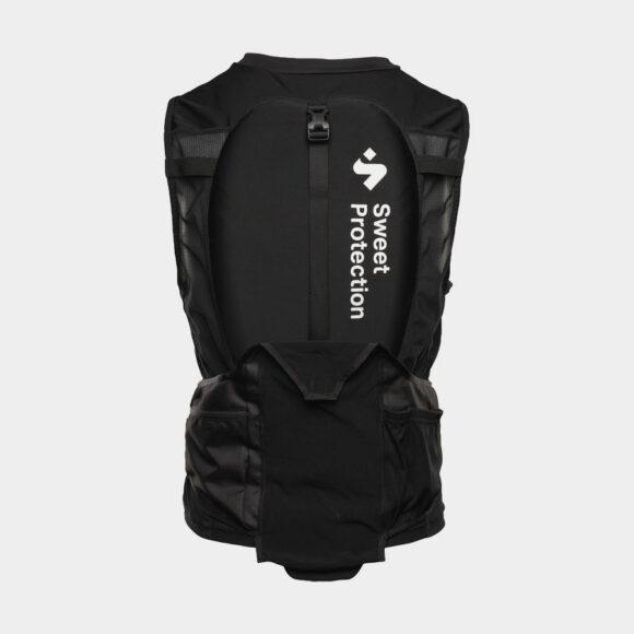 Överkroppsskydd Sweet Protection Enduro Race Vest Black, Medium