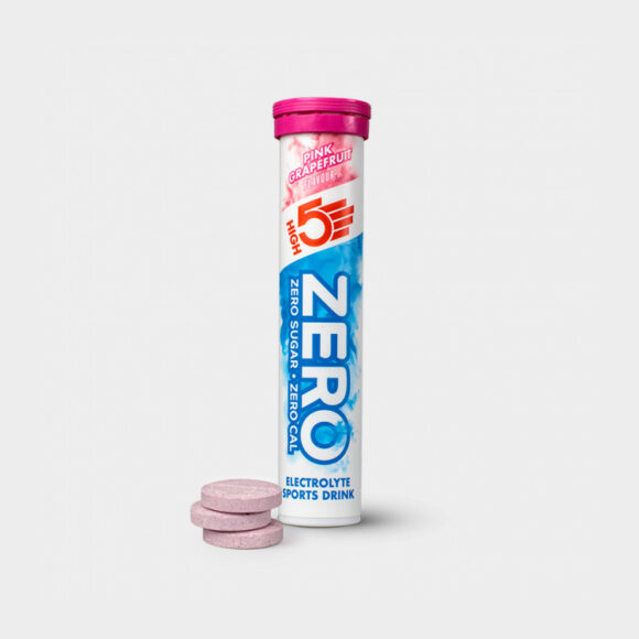 Sportdryck High5 Zero Pink Grapefruit, 20 tabletter