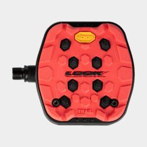 Pedaler LOOK Trail Grip, 1 par, Plattformspedaler, röd
