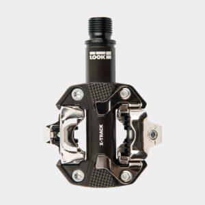 Pedaler LOOK X-Track EN-Rage+, 1 par, SPD, svart, inkl. klossar