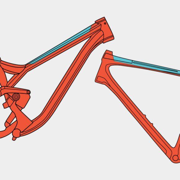 Överrörsskydd RideWrap Essential Frame Protection Kit Toptube Matte