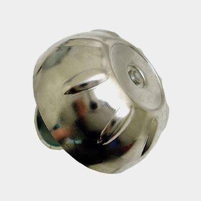 Ringklocka TWS Pärlan, Ø56 mm, stål, silver