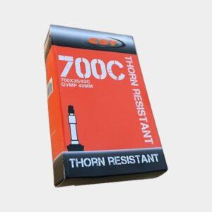 "Slang CST Thorn Resistant 28"" 37/45-622 cykelventil 40 mm"