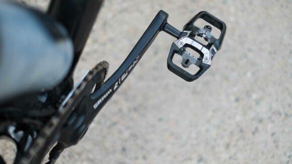 Pedaler BBB TrailMount, 1 par, SPD, svart/silver, inkl. klossar