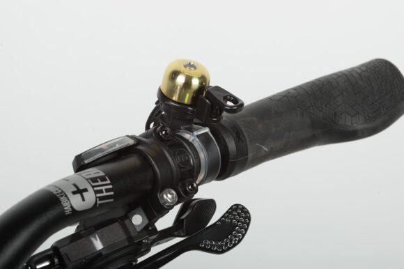Miniringklocka XLC DD-M02, Ø23 mm, mässing, guld