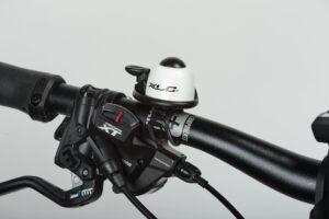 Ringklocka XLC DD-M07, Ø40 mm, aluminium, svart