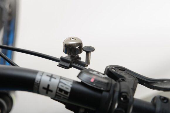 Miniringklocka XLC DD-M11, Ø22 mm, koppar, svart