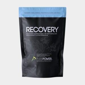 Återhämtningsdryck PurePower Pure Recovery Blueberry/Vanilla, 1 kg