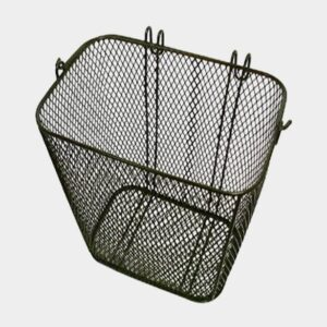 Cykelkorg TWS Hooks, stål, på pakethållaren, med handtag