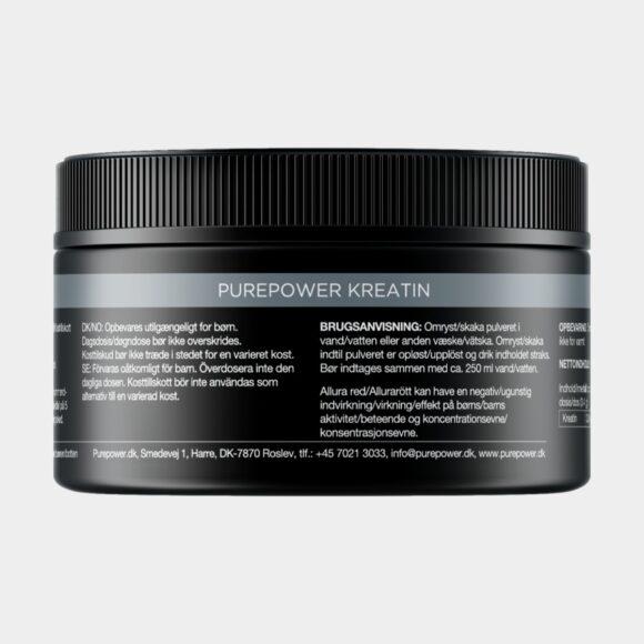Kreatin PurePower Creatine Neutral, 180 gram