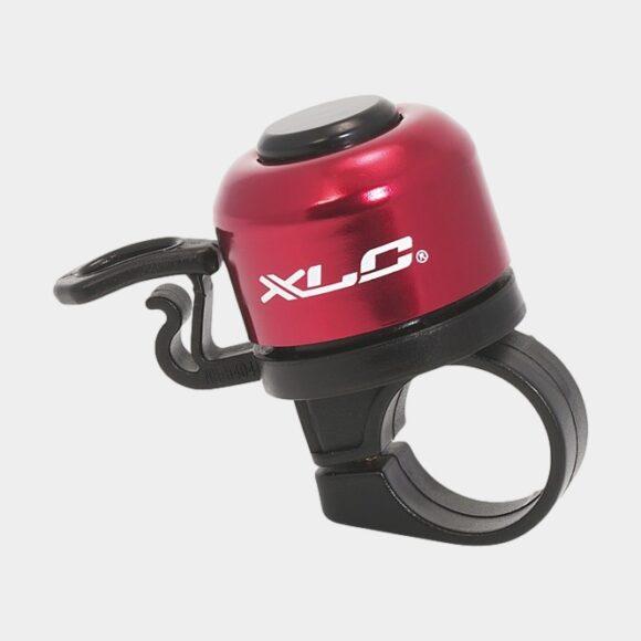 Miniringklocka XLC DD-M06, Ø33 mm, aluminium, röd