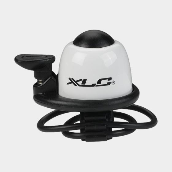 Miniringklocka XLC DD-M07, Ø40 mm, aluminium, vit