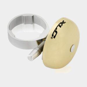Miniringklocka XLC DD-M19, Ø45 mm, mässing, guld