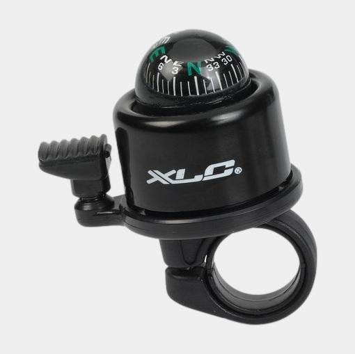 Miniringklocka XLC DD-M23, Ø41 mm, med kompass, aluminium, svart