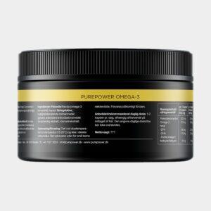 Omega-3 tabletter PurePower, 150 kapslar