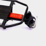 Pakethållare Pioneer EazyFit, aluminium, svart