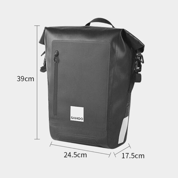 Pakethållarväska Sahoo Drypak, 20 liter