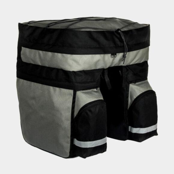 Pakethållarväska Sahoo Travelpak Triple Quest, 60 liter, svart/grå