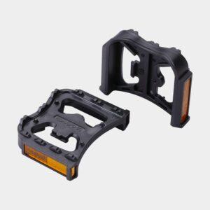 Pedaladapter BBB FeetRest, 1 par, SPD till standardpedaler, svart