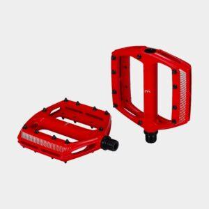 Pedaler BBB CoolRide, 1 par, Plattformspedaler, röd