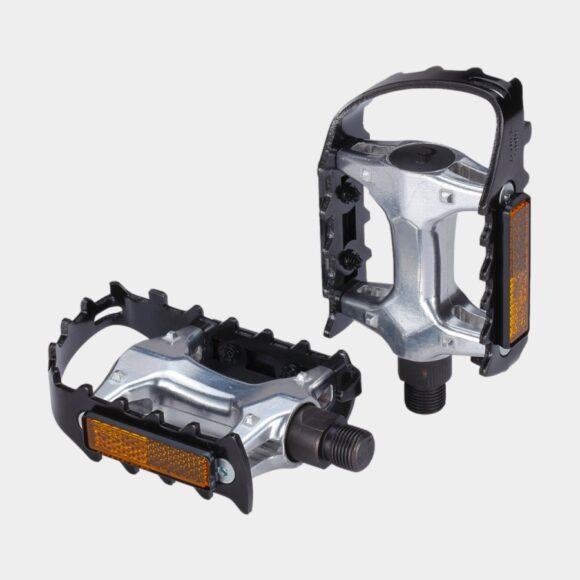 Pedaler BBB Mount & Go, 1 par, Standardpedaler, svart/silver