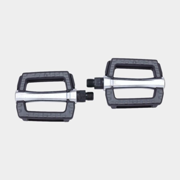 Pedaler BBB SteadyRest, 1 par, Standardpedaler, svart/silver