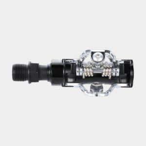 Pedaler BBB TouchMount, 1 par, SPD, silver/svart, inkl. klossar