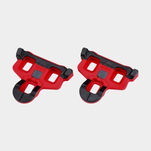 Pedalklossar BBB PowerClip, 1 par, SPD-SL-kompatibel, 6°, röd/svart