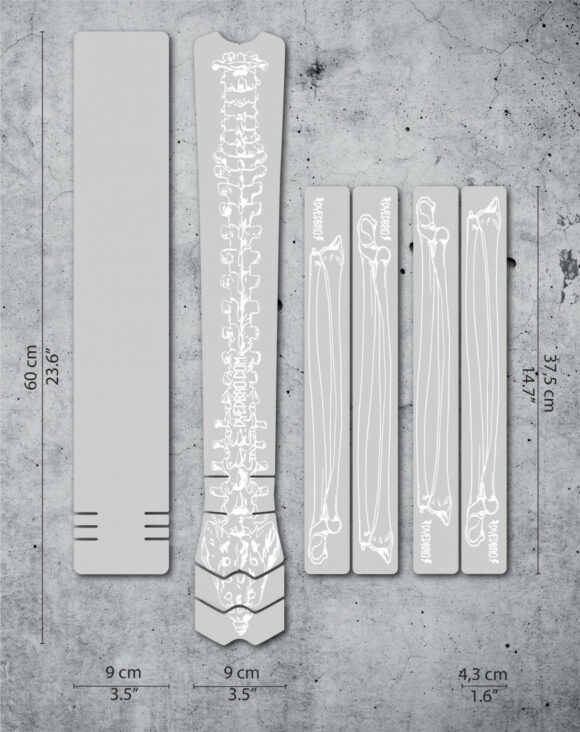 Ramskydd DYEDBRO Bones White