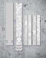 Ramskydd DYEDBRO Fluor White Gloss