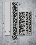 Ramskydd DYEDBRO K Mack Animal Print Black Matt